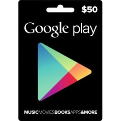Google Play US$50