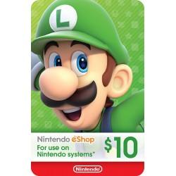 NIntendo eShop US$10